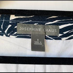 Josephine Chaus Jackets & Coats - Josephine Chaus Size 8 Black/White Cropped Sleeve